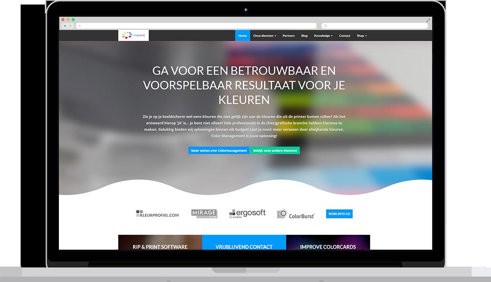 Portfolio - Website Improve Colormanagement